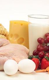 Cantidad diaria recomendada de proteínas